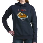 I Love Pie Women's Hooded Sweatshirt