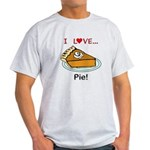 I Love Pie Light T-Shirt