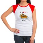 I Love Pie Women's Cap Sleeve T-Shirt