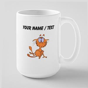 Custom Cartoon Cat Mugs