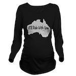 Ride Australia Long Sleeve Maternity T-Shirt