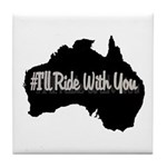 Ride Australia Tile Coaster