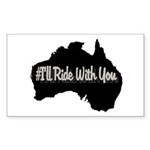 Ride Australia Sticker (Rectangle 10 pk)