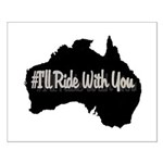 Ride Australia Small Poster