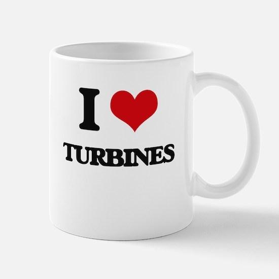 I love Turbines Mugs