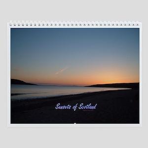 Sunsets of Scotland Calendar