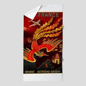 Air France Beach Towel