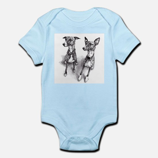 Whippet friends Body Suit