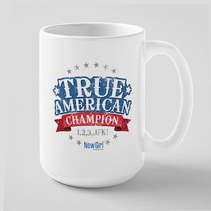 New Girl Champion Large Mug