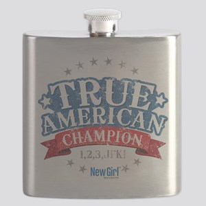 New Girl Champion Flask