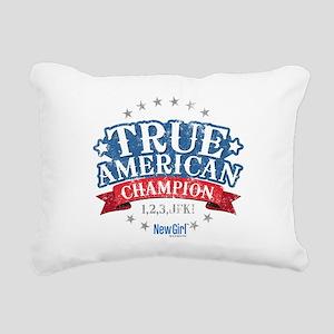 New Girl Champion Rectangular Canvas Pillow