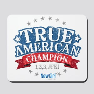 New Girl Champion Mousepad