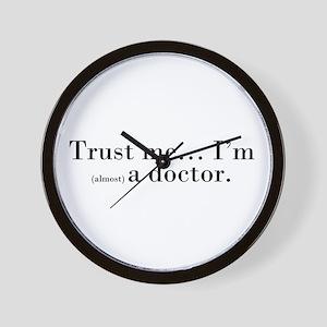 """""""Trust me..."""" Wall Clock"""