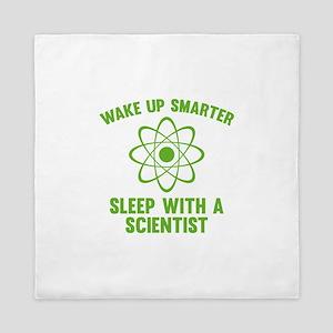 Wake Up Smarter Queen Duvet