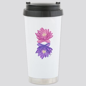 Sunrise Sunset Lotus Travel Mug