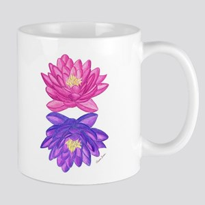 Sunrise Sunset Lotus Mugs