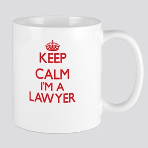 Keep calm I'm a Lawyer Mugs