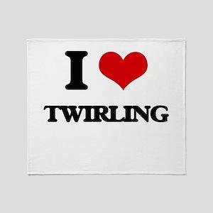 I love Twirling Throw Blanket