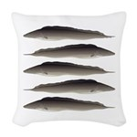 Aba African Knifefish Woven Throw Pillow