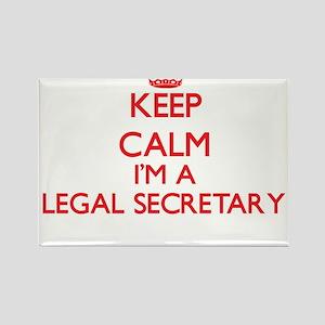 Keep calm I'm a Legal Secretary Magnets