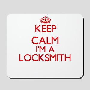 Keep calm I'm a Locksmith Mousepad