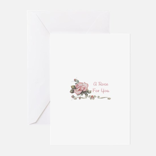 A Rose For You Greeting Cards (Pk of 10)