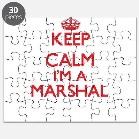 Keep calm I'm a Marshal Puzzle