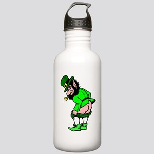Leprechaun Mooning Water Bottle