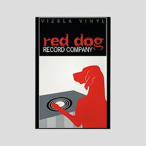 Vizsla Vinyl Rectangle Magnet