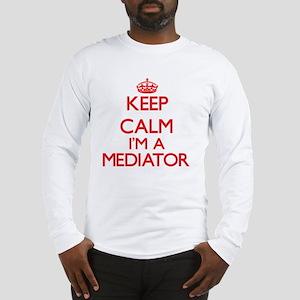 Keep calm I'm a Mediator Long Sleeve T-Shirt