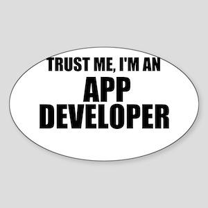 Trust Me, I'm An App Developer Sticker
