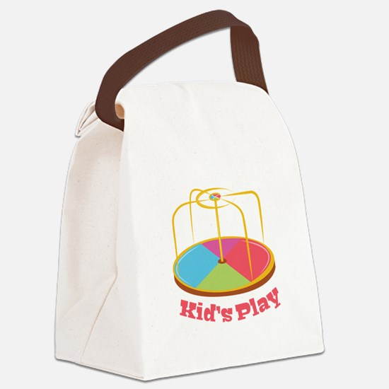 Kid's Play Canvas Lunch Bag