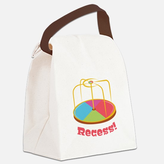 Recess ! Canvas Lunch Bag