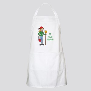 AT YOUR SERVICE Apron