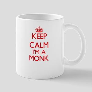 Keep calm I'm a Monk Mugs