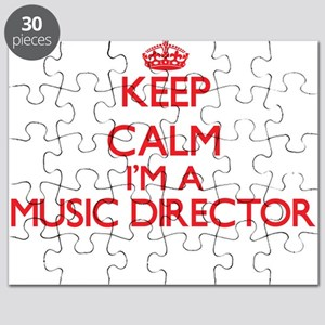 Keep calm I'm a Music Director Puzzle