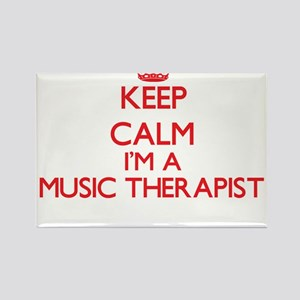 Keep calm I'm a Music Therapist Magnets