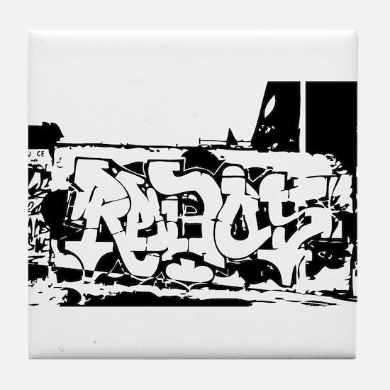 Graffiti Tile Coaster