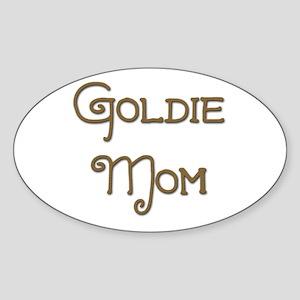 Goldie Mom 7 Oval Sticker