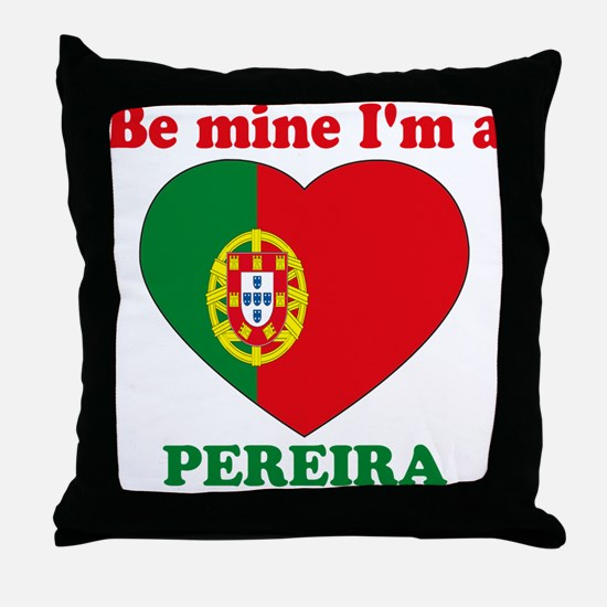 Pereira, Valentine's Day Throw Pillow