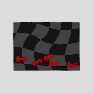 Race Cars 5'x7'Area Rug