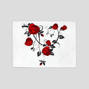 Rose 5'x7'Area Rug