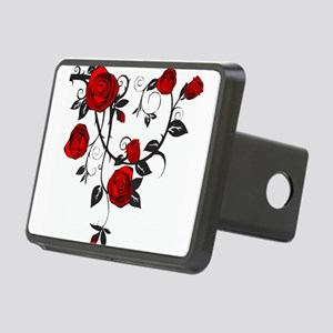 Rose Rectangular Hitch Cover