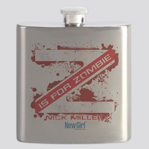 New Girl Zombie Flask