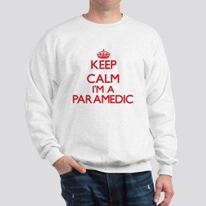 Keep calm I'm a Paramedic Sweatshirt