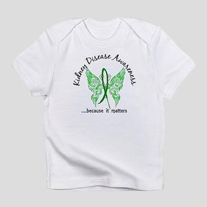 Kidney Disease Butterfly 6.1 Infant T-Shirt