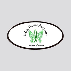 Kidney Disease Butterfly 6.1 Patches