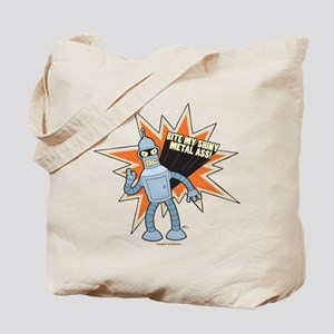 Futurama Bender Shiny Tote Bag