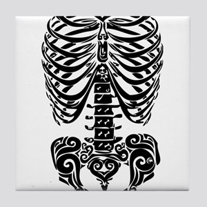 bones Tile Coaster