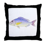 Dentex Throw Pillow